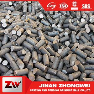 Quality Forging and Casting Grinding Rod For Mining Low Breakage Long Time Work 50mm for sale