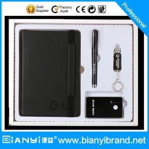 China Notebook ,ball pen,Power bag,gift set for business 2016 new products gift item on sale