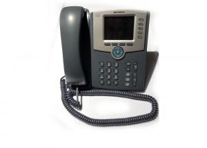 China SPA-525G2 5- Line Used Cisco IP Phones Two Ethernet Ports Liquid Crystal Display on sale