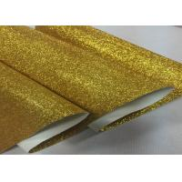 "54"" Width Glitter Effect Wallpaper Glitter Fabric Gold Wallpaper Pu Cloth Backing"