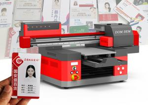 China Multicolor Flatbed Uv Digital Printer For USB Glass Metal Plastics Acrylic Printing on sale