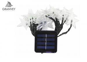 China 4.8M Solar LED Christmas Lights Star Fairy String Lights Waterproof Lamp  20 LED For Garden on sale
