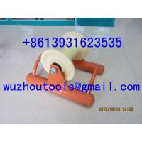 China Hoop Roller ,Laying cables in ducts - Triple roller on sale