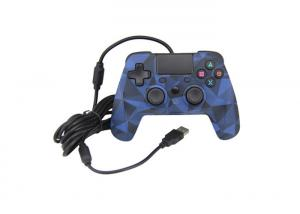 Quality Camo Blue Wired Playstation Game Controller With Touchpad 3 Months Warranty for sale