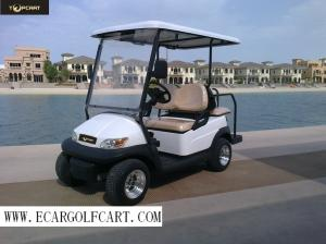 Low Speed 4 Seater Golf Cart Sightseeing Clubcar Pp Material High