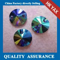 China YAX clear rhinestone Sew on glass,Sew on glass rhinestone,crystal ab Sew on glass on sale