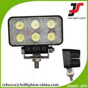 China 18W aluminum car led work lighting cree off road led driving lights on sale