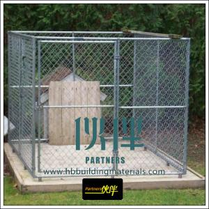 China Fencing supplies produce chain link fence, used for dog runs, dog kennels,dog cages on sale