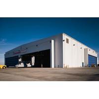 light prefabricated construction steel structure aircraft hangar design