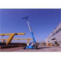 Industrial Grade Telescoping Boom Lift , Crawler Boom Lift Easy Maintain Safe