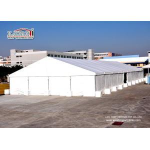 China tentes industrielles de stockage de construction en aluminium blanche de PVC de plaine du mètre 10x12 on sale