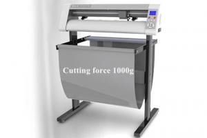 China Hard Paper Cardboard Cutting Plotter with Optical Eye 1mm Cutting Thickness T24XL on sale
