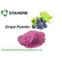 Anti - Aging Dehydrated Fruit Powder , Grape Juice Powder Fit Beverage / Food