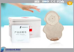 China Lightweight Monkey Shape Ostomy Drainage Bag With FDA / CE / ISO Approved on sale