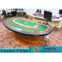 Multi-functional Macau Galaxy Luxury Poker Table With Three Printed Table Cloths