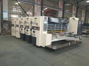 China High Speed Corrugated Cardboard Production Line Printing Slotting And Die Cutter on sale