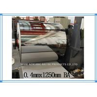 Cold Rolled Stainless Steel Sheet Coil BA Finish AISI Inter Paper Protection