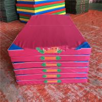 Early education software equipment cheap gymnastics mats made in Hebei China  Customized color