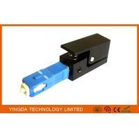 Square Fiber Optic Adapter SC SM / MM Simplex Blue Black Fiber Optic Coupler
