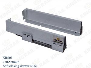 China Double Wall Soft Close Drawer of Cabinet Drawer Slides KRS01 on sale