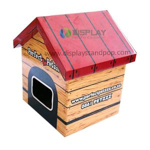 China Eco-friendly Corrugated Cardboard Pet House, Cardboard House for Pets on sale