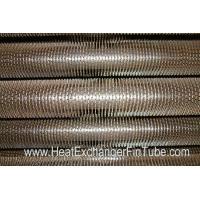 China U Bent Welded Spiral Evaporator Tube , SA210 Gr. C SMLS Carbon Steel Tube on sale