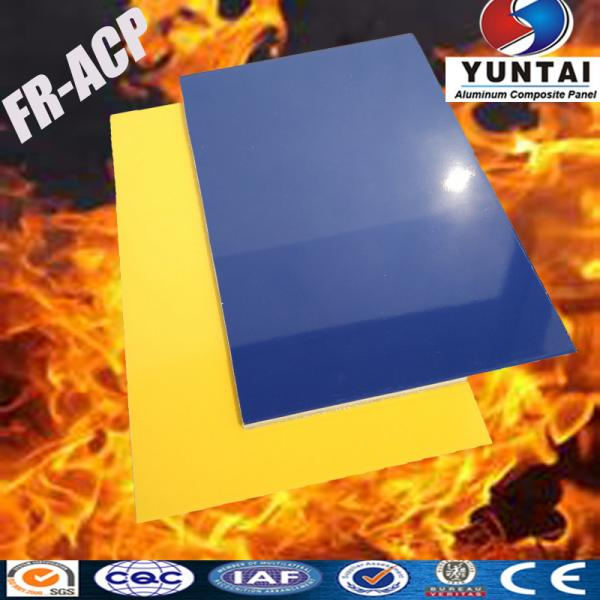Fire resistant wall covers in Aluminum Composite Panel 4mm PVDF ...
