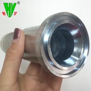 China Hydraulic carbon steel flange fittings SAE threaded flange on sale