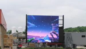 China SMD Led Wall Screen Display Outdoor , Advertising Led Video Display P6 P8 P10 1R1G1B supplier