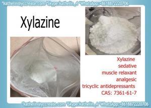 China Sedative Powder Xylazine used For tricyclic antidepressants CAS 7361-61-7 on sale
