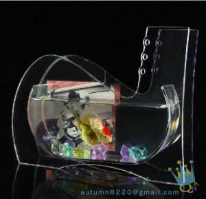 China Wedding decoration small acrylic fish tank on sale