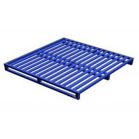 Powder Coating Stackable Steel Pallets Warehouse Iron Stacking Storage Shelves