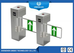 China Pedestrian Vertical Swing Turnstile Gate Automatic Sliding Security Entrance Control on sale