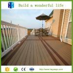 Wholesale non-slip crack-resistant wood plastic composite decking