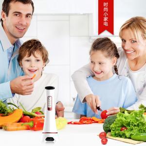 China Yellow Green Pink Sub Health Analyzer Vegetables Fruits Sterilizing Food Washer Machine on sale
