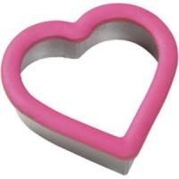 China flower shaped tainless steel cookie cutter with silicone edge on sale