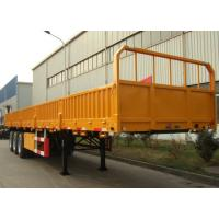 China Triple Axles Storage Container Trailer 12 Sets Twist Lock Flatbed Air Suspension Type on sale
