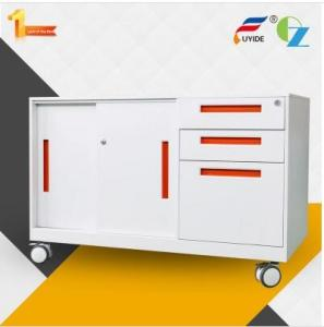 China Reasonable price sliding door 3 drawer mobile cabinet/ caddy on sale