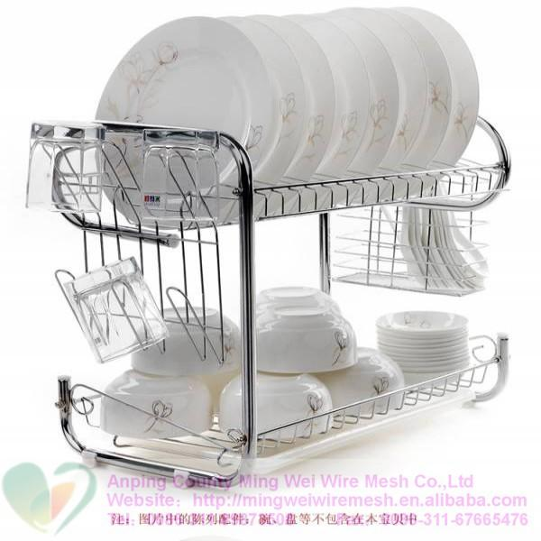 Stainless Steel Kitchen Dish RackKitchen shelvesplate holder  sc 1 st  barbed wire - Everychina & Stainless Steel Kitchen Dish RackKitchen shelvesplate holder ...
