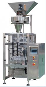 China Bean Sugar Corn Packaging Machine , Vertical Pouch Filling Machine Low Noise on sale