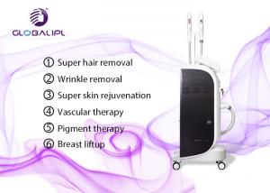 China Stable Efficient SHR IPL Laser Body Hair Removal Machine 15*50mm2 Big Spot Size on sale