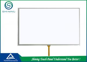 China LCD Module 4 Wire Resistive Touch Panel Capacitive With Double Layers on sale