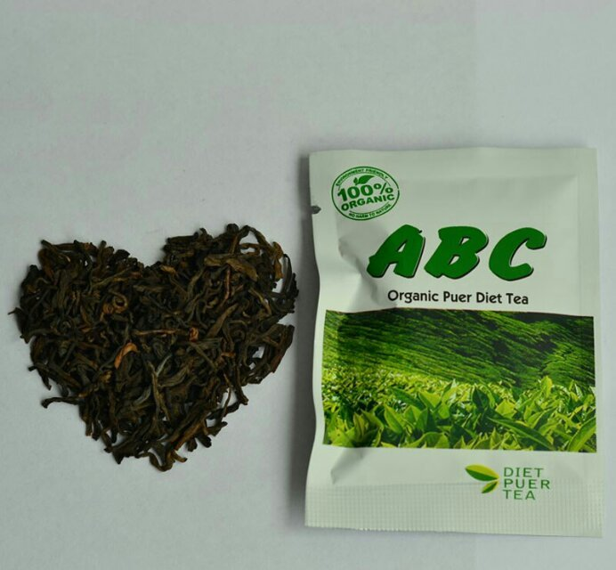 ABC Organic Puer Diet Tea, Slimming Tea