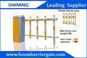 China CE Approved Motor Durable Intelligent Automatic Barrier Gate With Fence Arm on sale