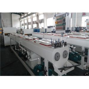China 150KG/H Capacity PVC Pipe Extrusion Line Dust / Chip Free Cutting System on sale