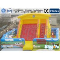 Customized Inflatable Fun House Giant Inflatable Playground Farm Theme