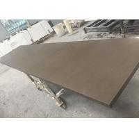 US Standard Quartz Slab Countertops Quartz Cabinet Tops Brown Color