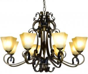 China Top Quality Chandeliers American Style Simple Retro Iron Art Stair Pendant Lights on sale