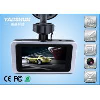 Surveillance HD WIFI Car DVR With Dual Camera , GPS Radar Detector