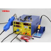 China 3 In 1 Hot Air Mobile Phone Rework Station , Lead Free Soldering Rework Stations on sale